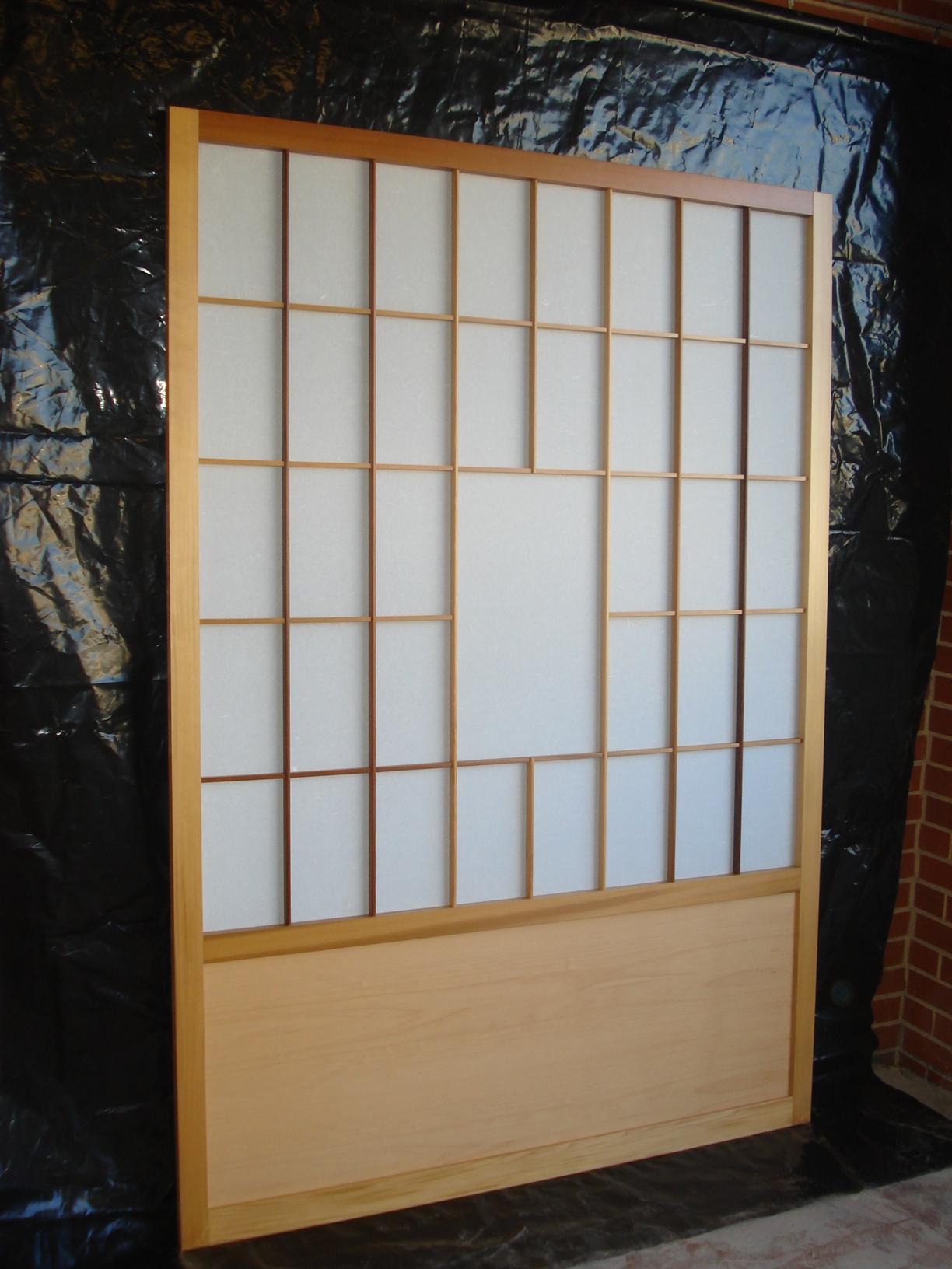 Wooden Divider Screen